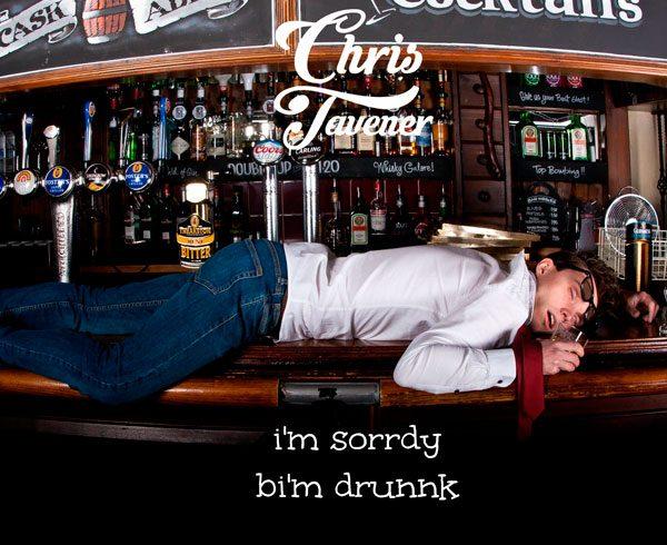 Chris Tavener's 2016 EP 'i'm sorrdy bi'm drunnk'