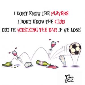 Chris Tavener's Wrecking The Bar Lyric T-Shirt