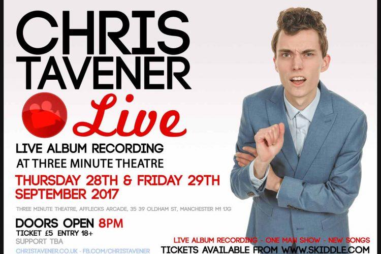 Chris Tavener Live Landscape Poster