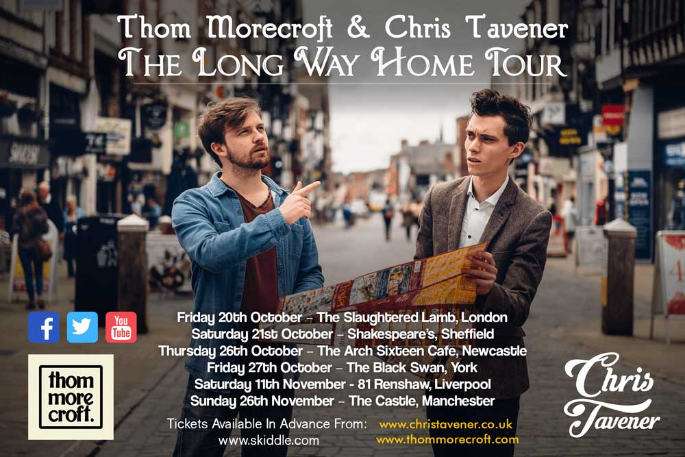 The Long Way Home Tour Poster