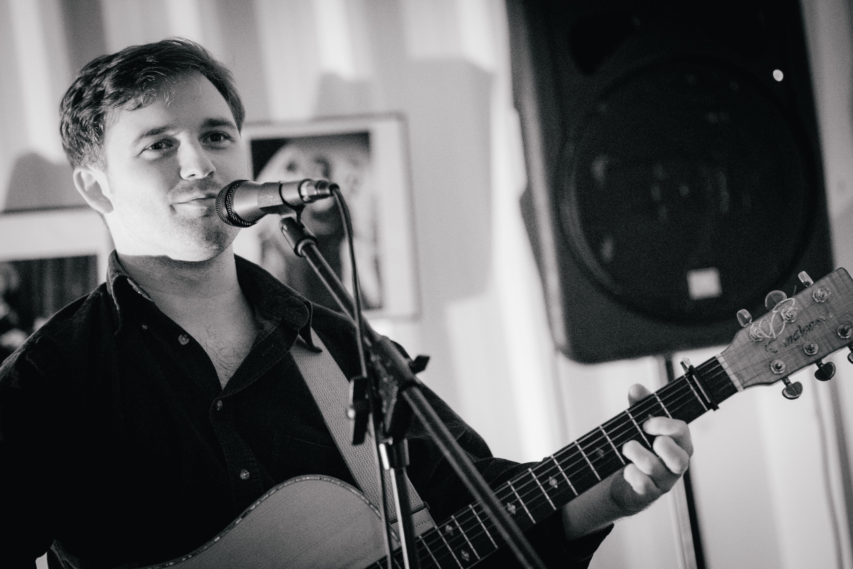 Thom Morecroft Live In Newcastle. Photo by Thomas Jackson