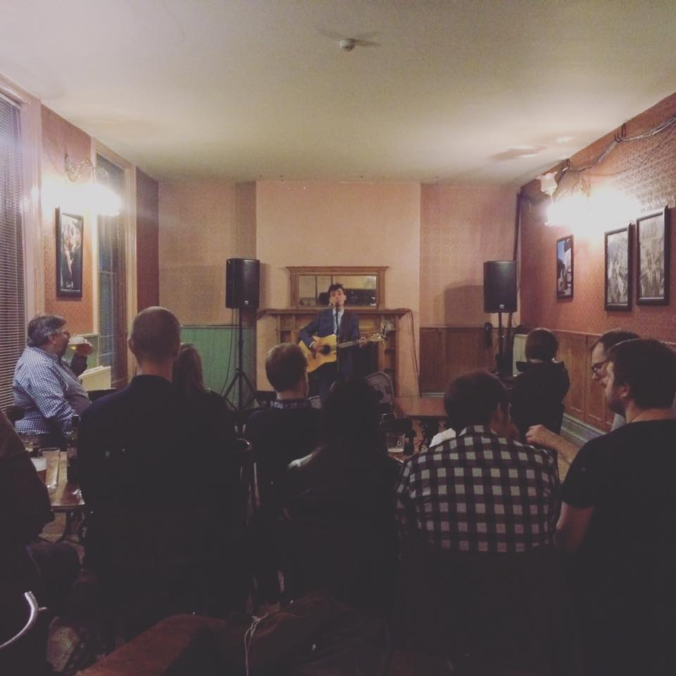 Chris Tavener and Thom Morecroft Live In Sheffield