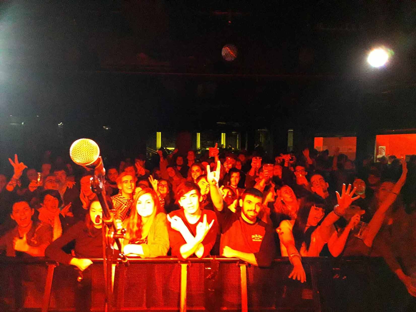 Crowd Shot At Super Hans, Manchester Academy