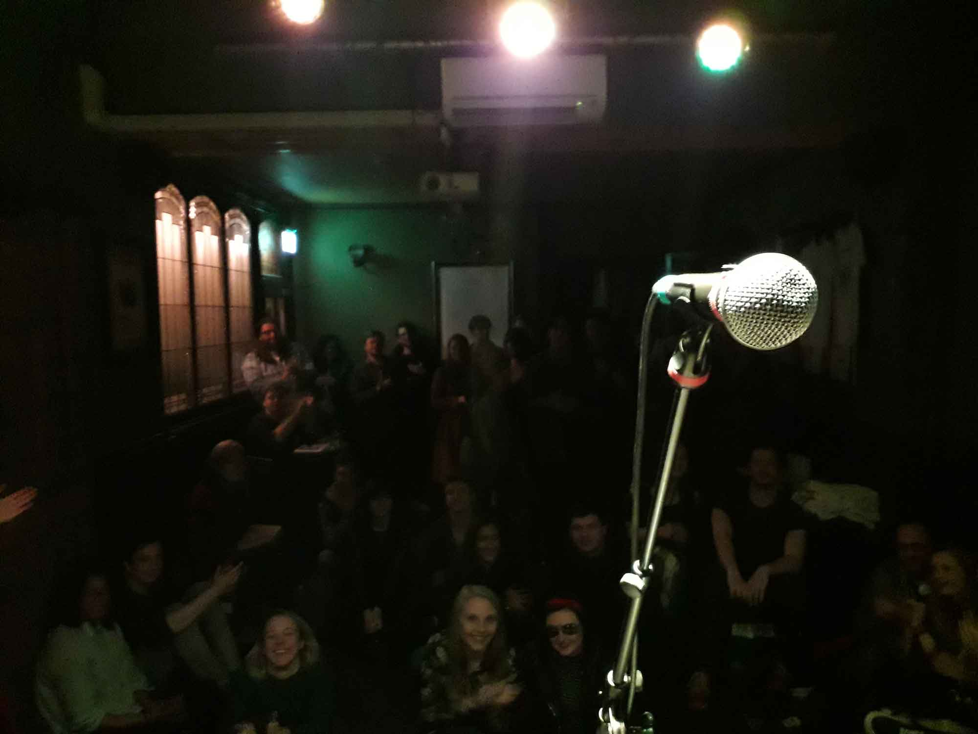 Photograph Of The Crowd During Chris Tavener's Set Live In Manchester