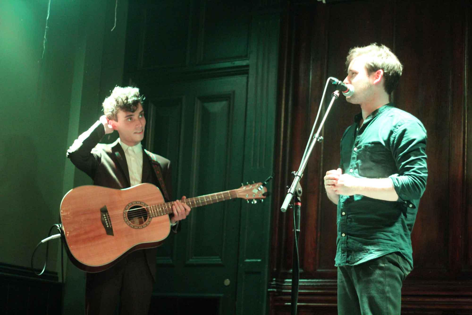 Thom Morecroft Introduces Chris Tavener Live In Manchester