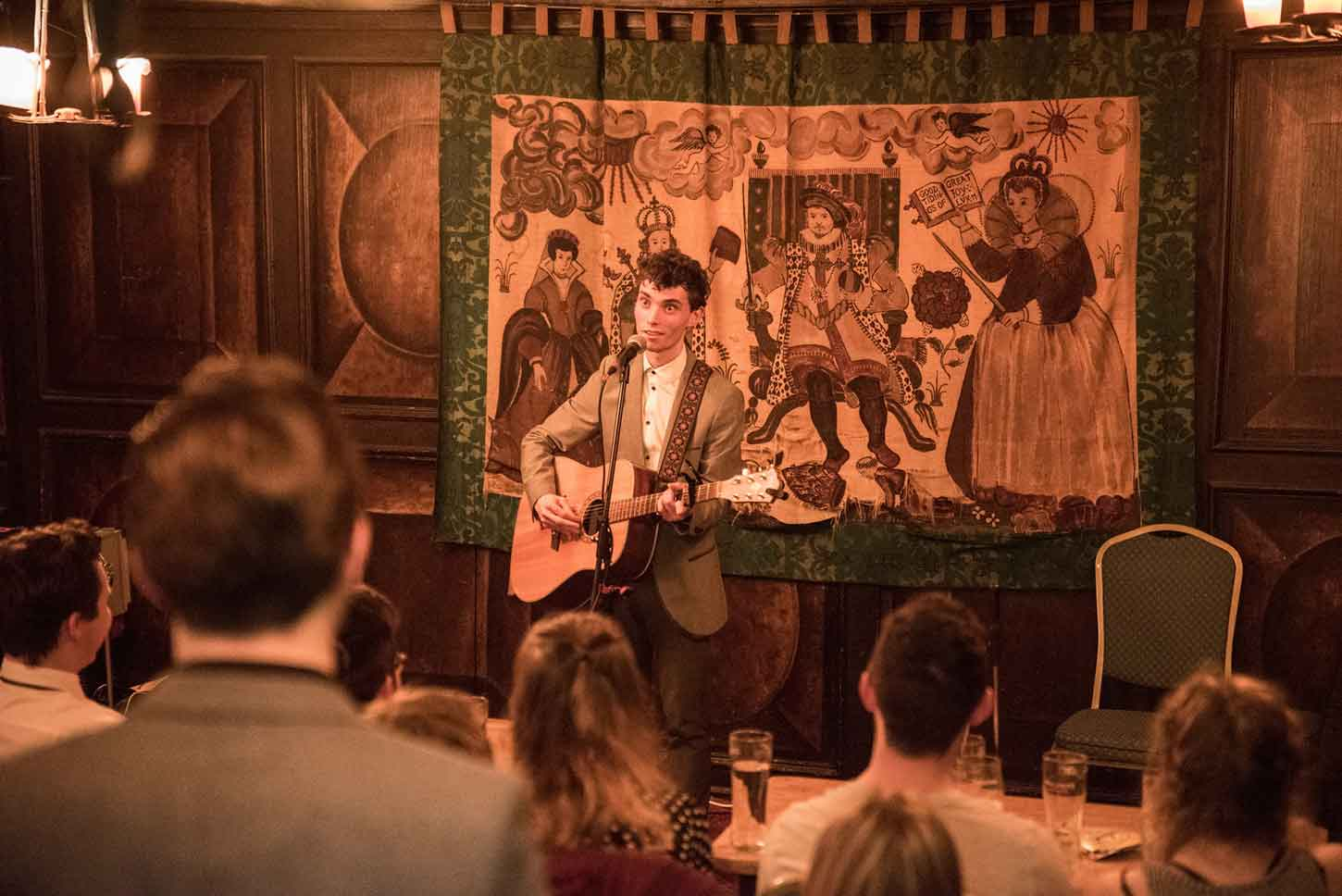 Chris Tavener Performing Live In York. Photo by Flaming Pint Photography