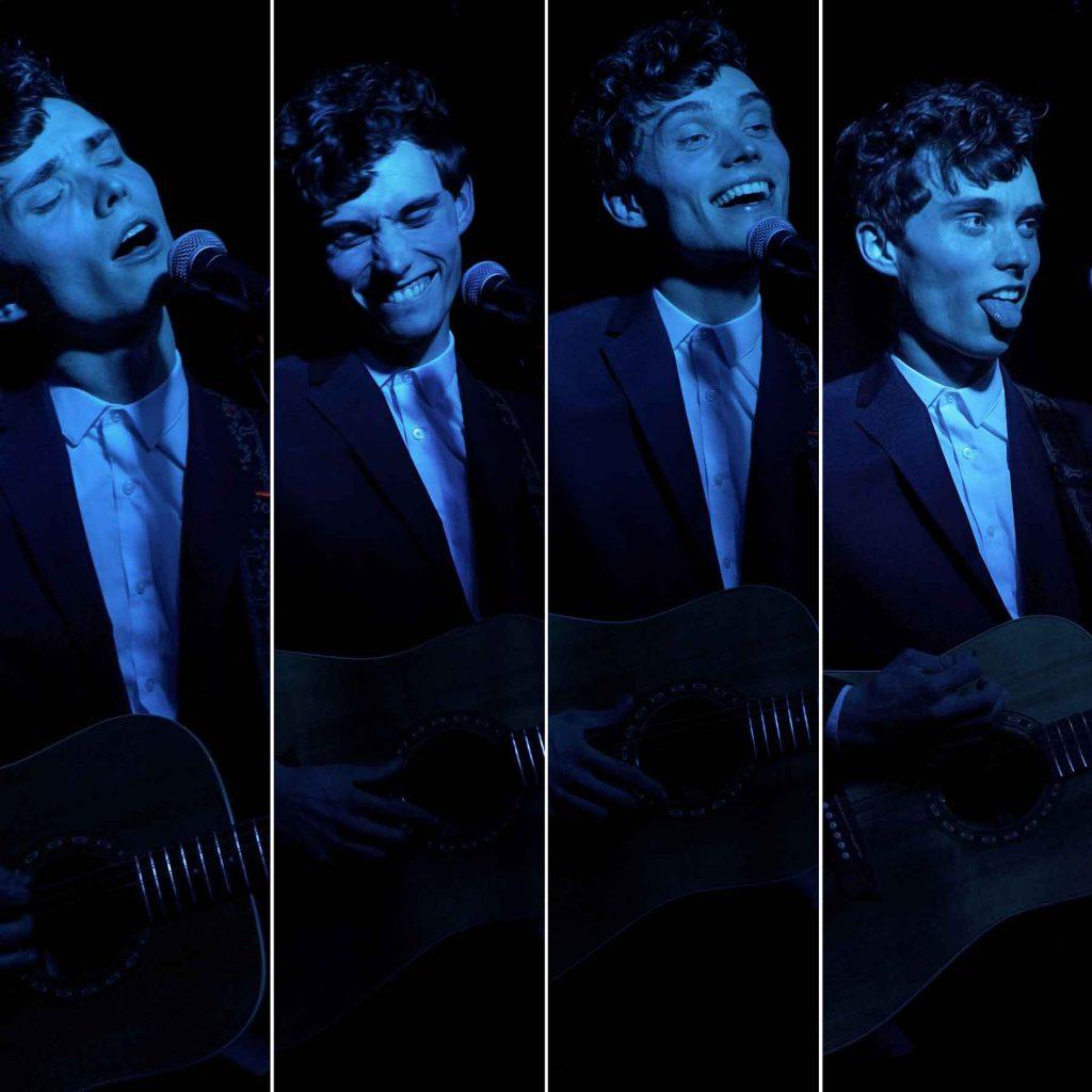 Chris Tavener Performing Live In Liverpool. Photos by Susanne Hodder