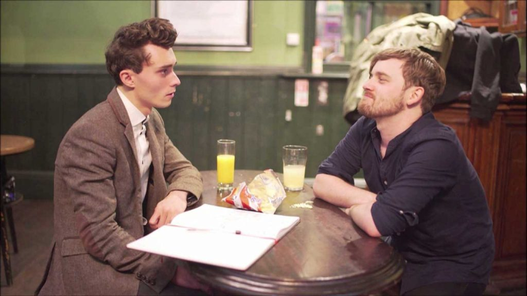 Chris Tavener and Thom Morecroft - The Long Way Home Tour (Still From Comedy Sketch)