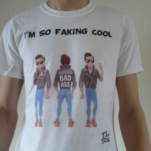 'Faking Cool' T-Shirt