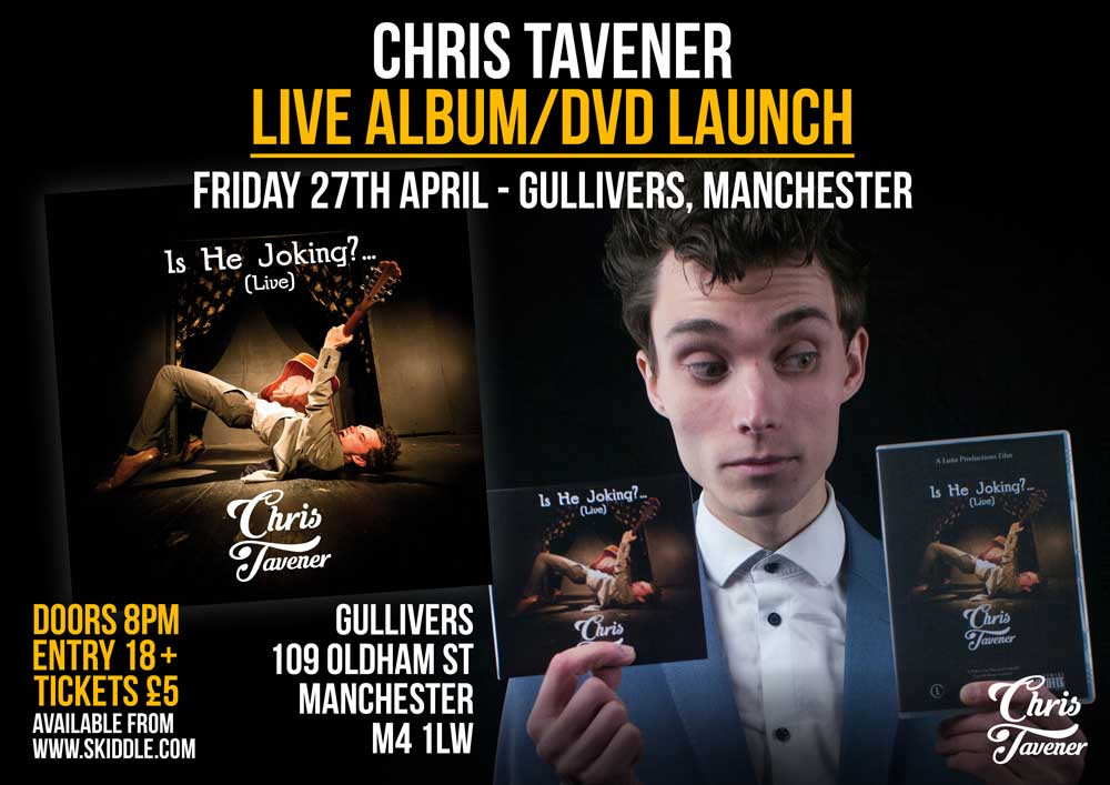 Is He Joking? (Live) - Satire Comedy Music Album Launch - 27th April